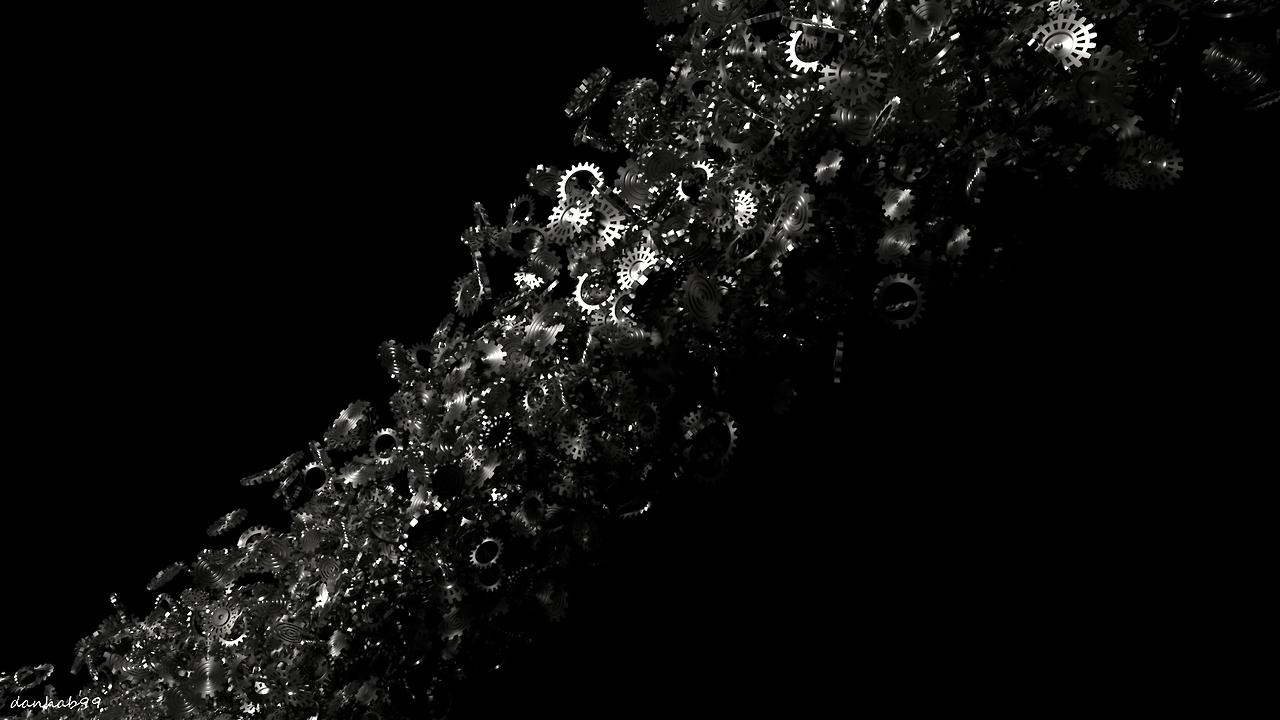 Wallpaper [OC] Storm of Gears [1920×1080] 4K