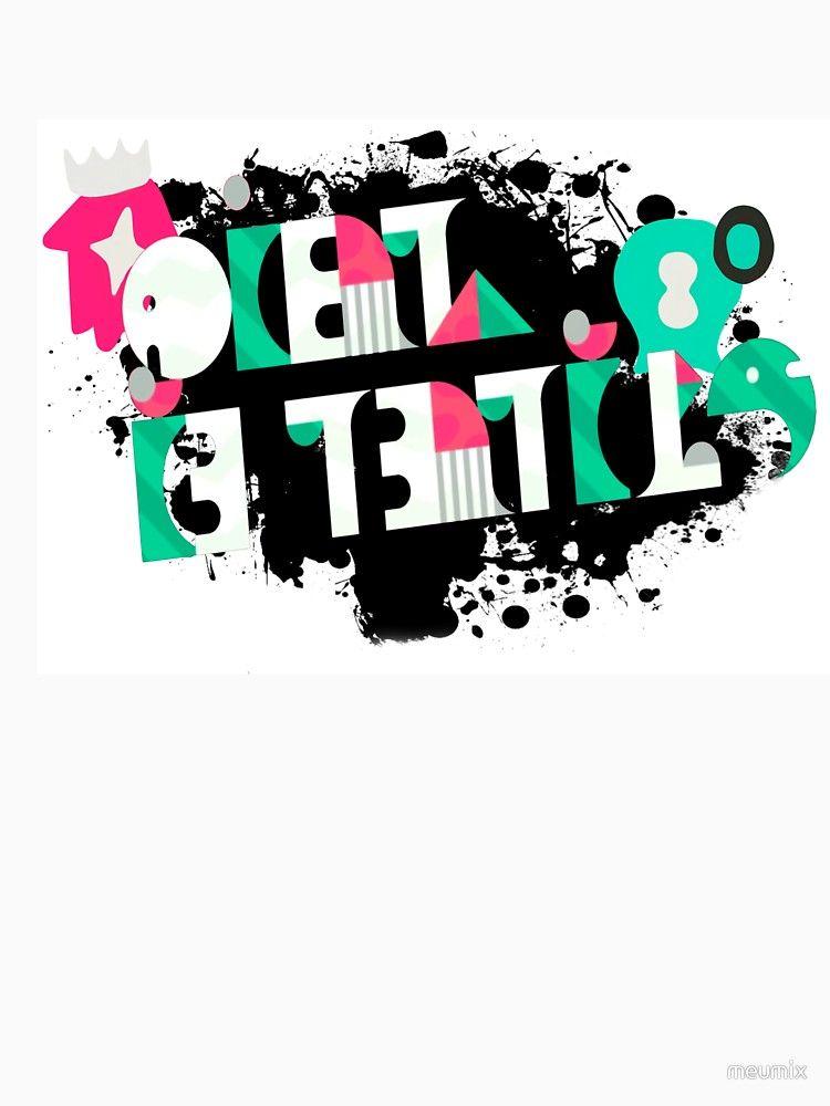 Splatoon 2 Off The Hook Logo Essential T Shirt By Meumix In 2021 Splatoon Logos Graffiti