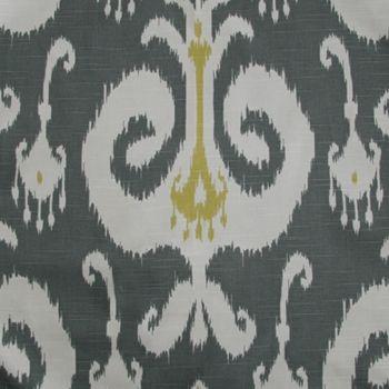 Citron Print Himalaya Ikat  189569 I've rarely seen an ikat design/pattern I didn't love...