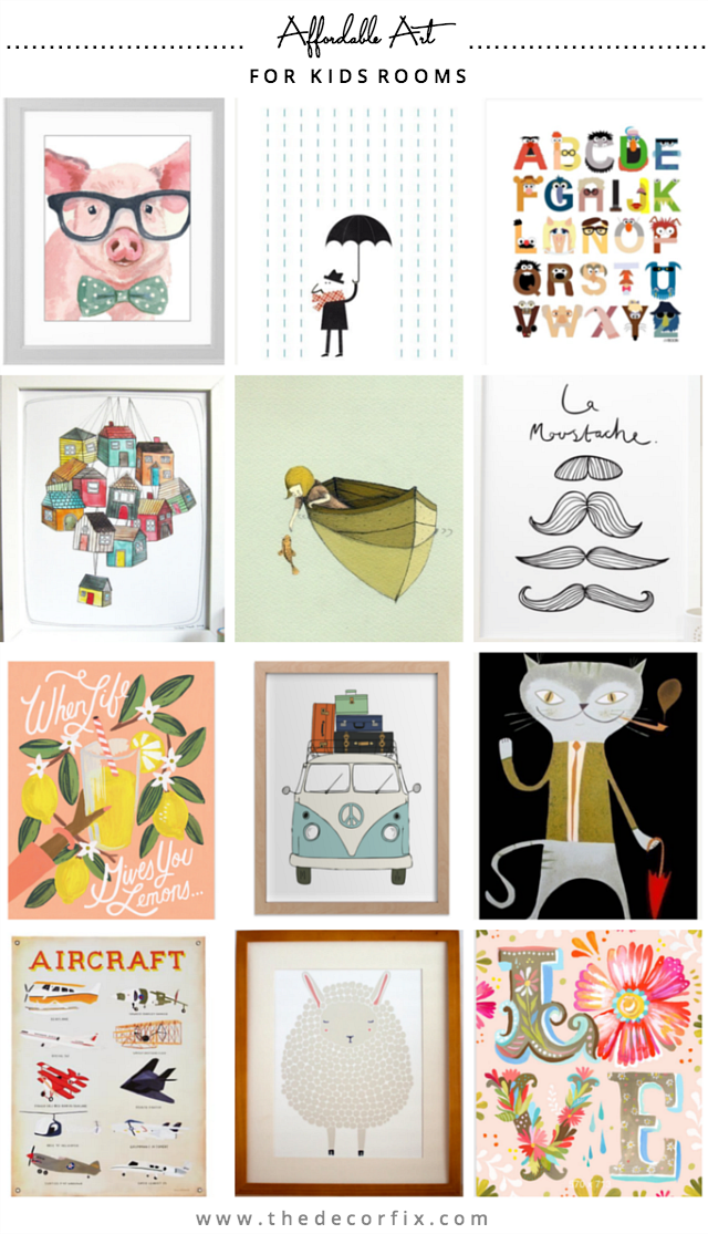 places to find art for kids room pinterest affordable art kids rh pinterest com