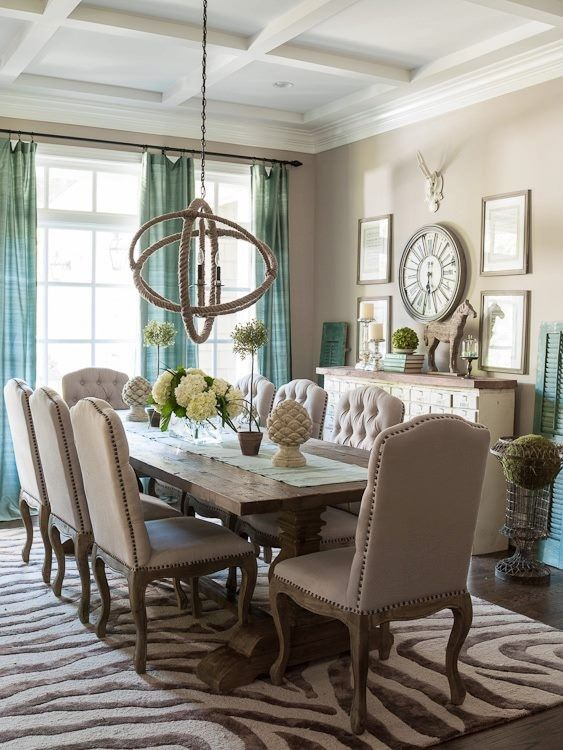 Blue Egg Brown Nest Wall Colors Dining Room