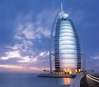 will go to Dubai and stay at this hotel