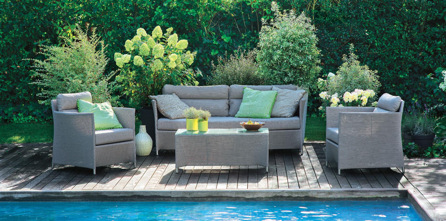 salon de jardin truffaut vivre au jardin pinterest. Black Bedroom Furniture Sets. Home Design Ideas