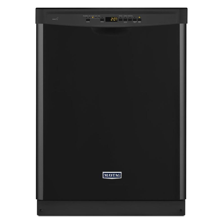 $494  Maytag 50-Decibel Built-In Dishwasher (Black) (Common: 24-in; Actual: 23.875-in) ENERGY STAR