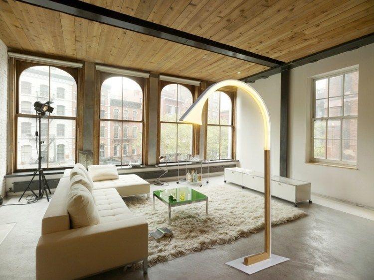 Holz Wohnzimmer ~ Deavita wp content uploads stehlampe holz