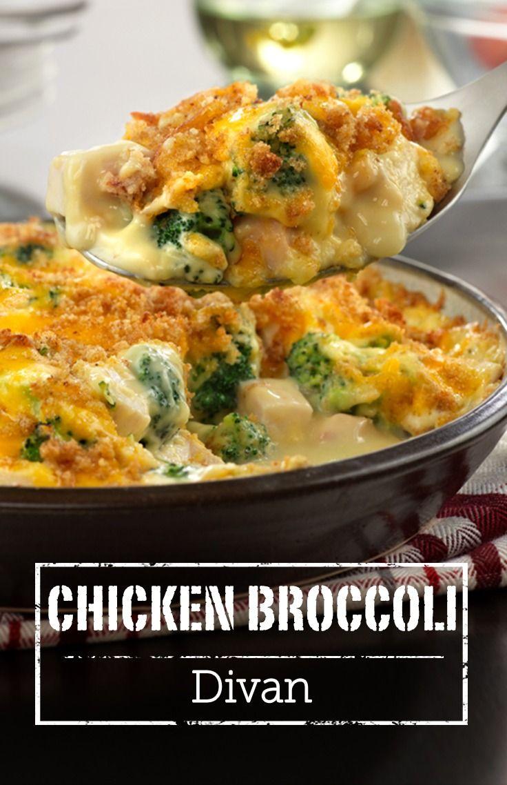Chicken Broccoli Divan  Recipe  Campbells Soup Recipes -1705