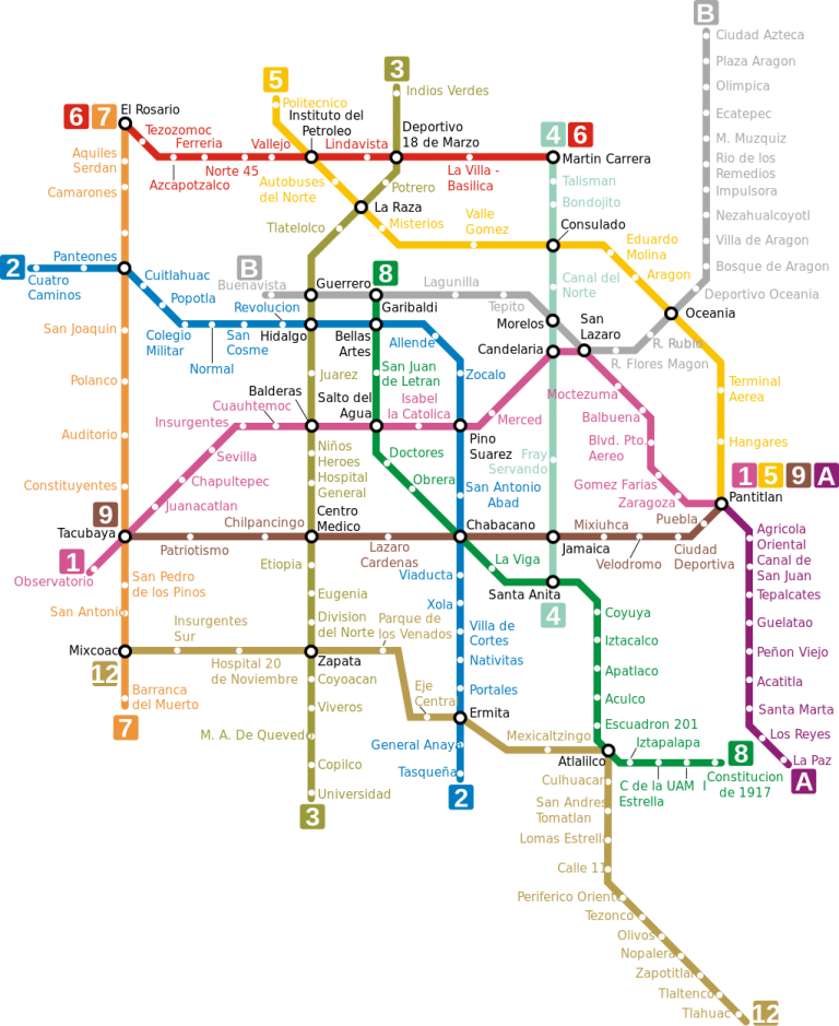 Mexico City Subway Map Wheres The Airport.A Quick Dirty Insider Guide To The Best Neighbourhoods In Mexico