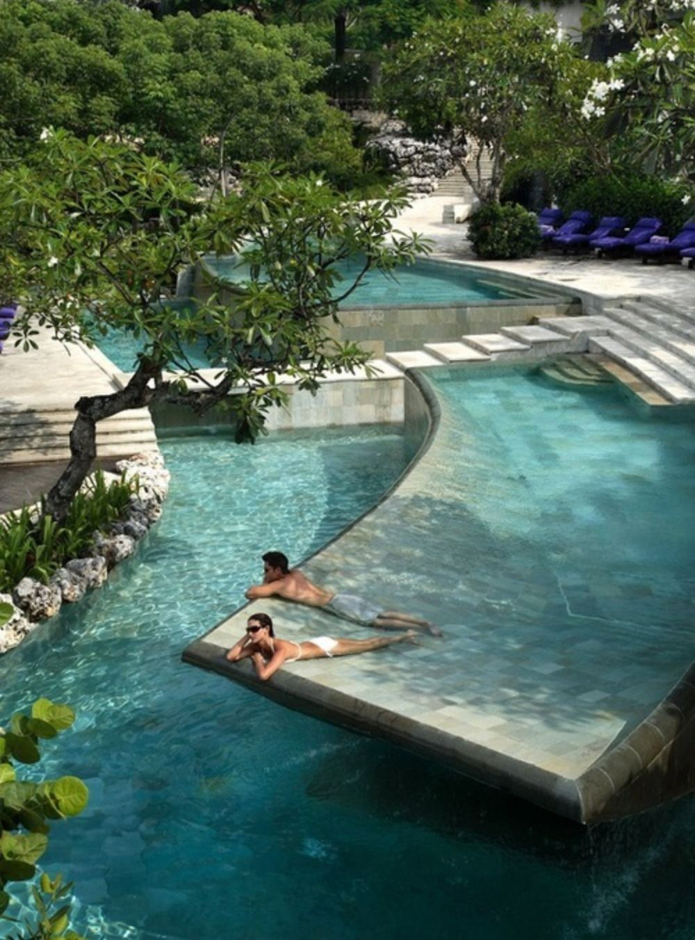 Ayana resort and spa bali bali indonesia ubud kuta for Pool design bali