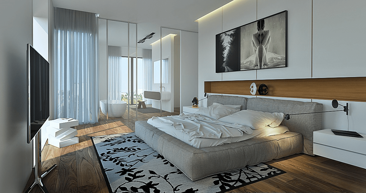 inspiring modest casual bedroom | 50 Perfectly Minimal and Inspiring Bedrooms | Stylish ...