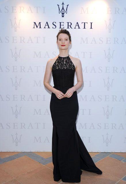Mia Wasikowska   Maserati turns heads as stars arrive at the 70th Venice International Film Festival in style