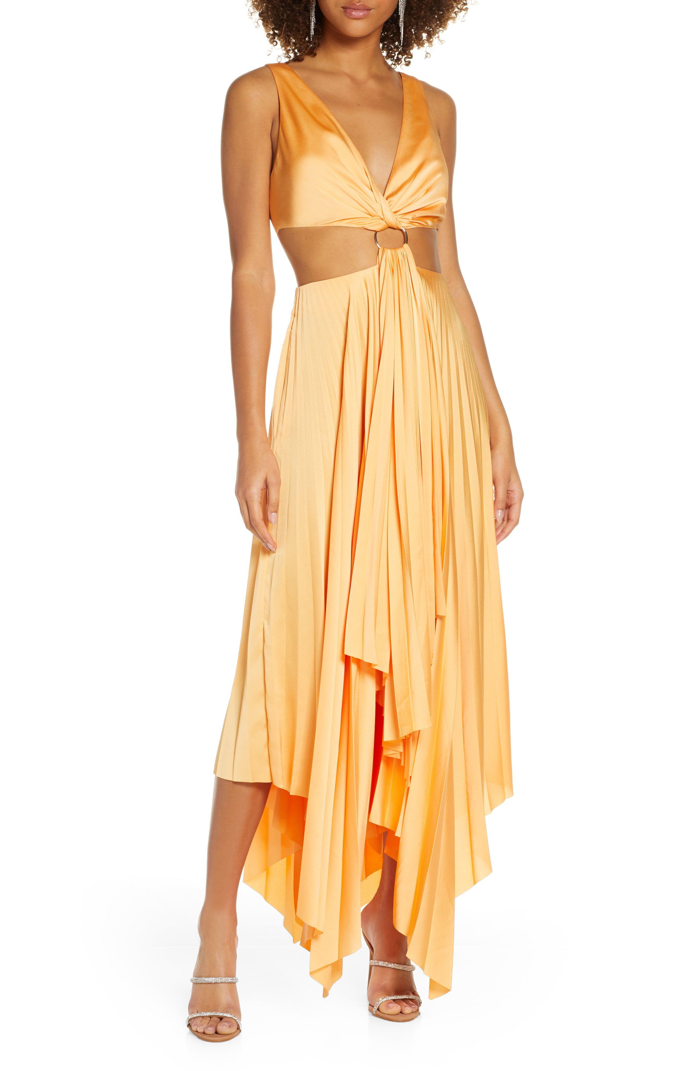 70s Prom Formal Evening Party Dresses Satin Maxi Dress Fashion Clothes Women Satin Cocktail Dress [ 4048 x 2640 Pixel ]