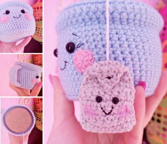 Teacup Pincushion Crochet Pattern Video Crochet Patterns And Craft
