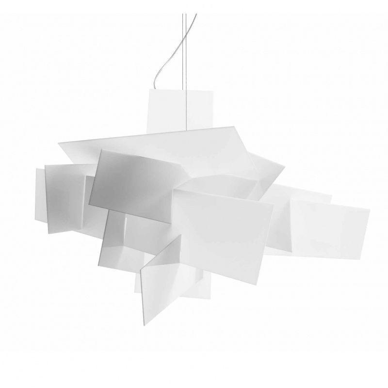 Foscarini - Big Bang Pendelleuchte - weiß/Metakrylat/96x66cm