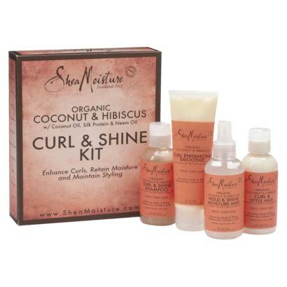SheaMoisture® Coconut & Hibiscus Curl & Shine - 1 Kit