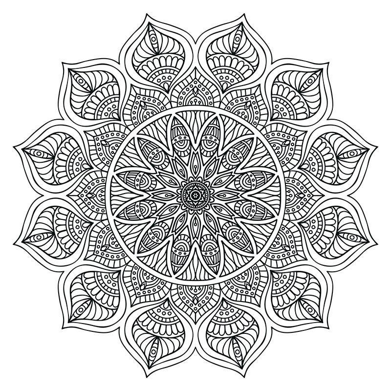 - Pin On Mandala Coloring Books
