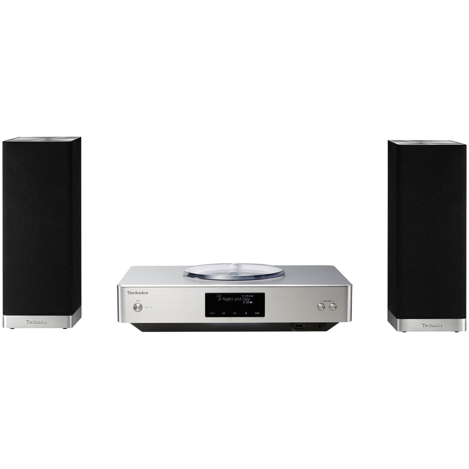 Technics OTTAVA Premium High Resolution Hi-Fi System With Bluetooth ...