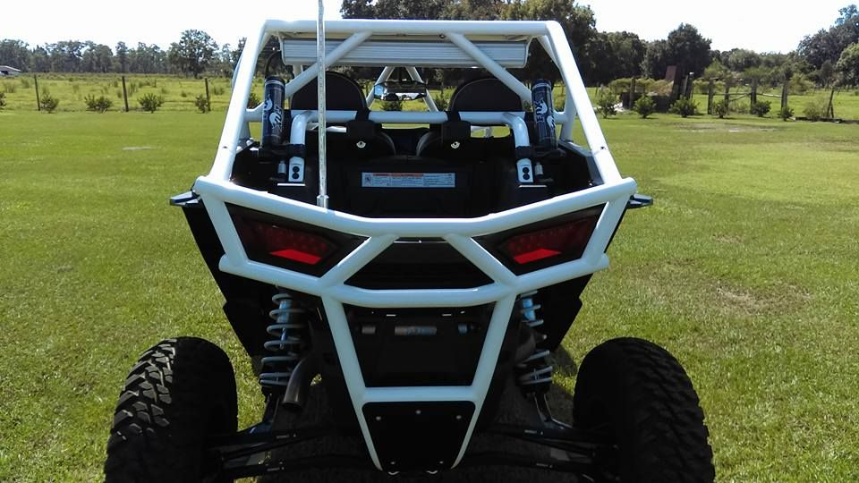 Polaris Rzr 1000 Roll Cage Aluminum Roof Light Bar And Sound Bar Mounts Yeti Cooler Tie Downs And Rear Bumper Montanas