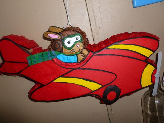Flying Bunny Pinata on Etsy, $25.00