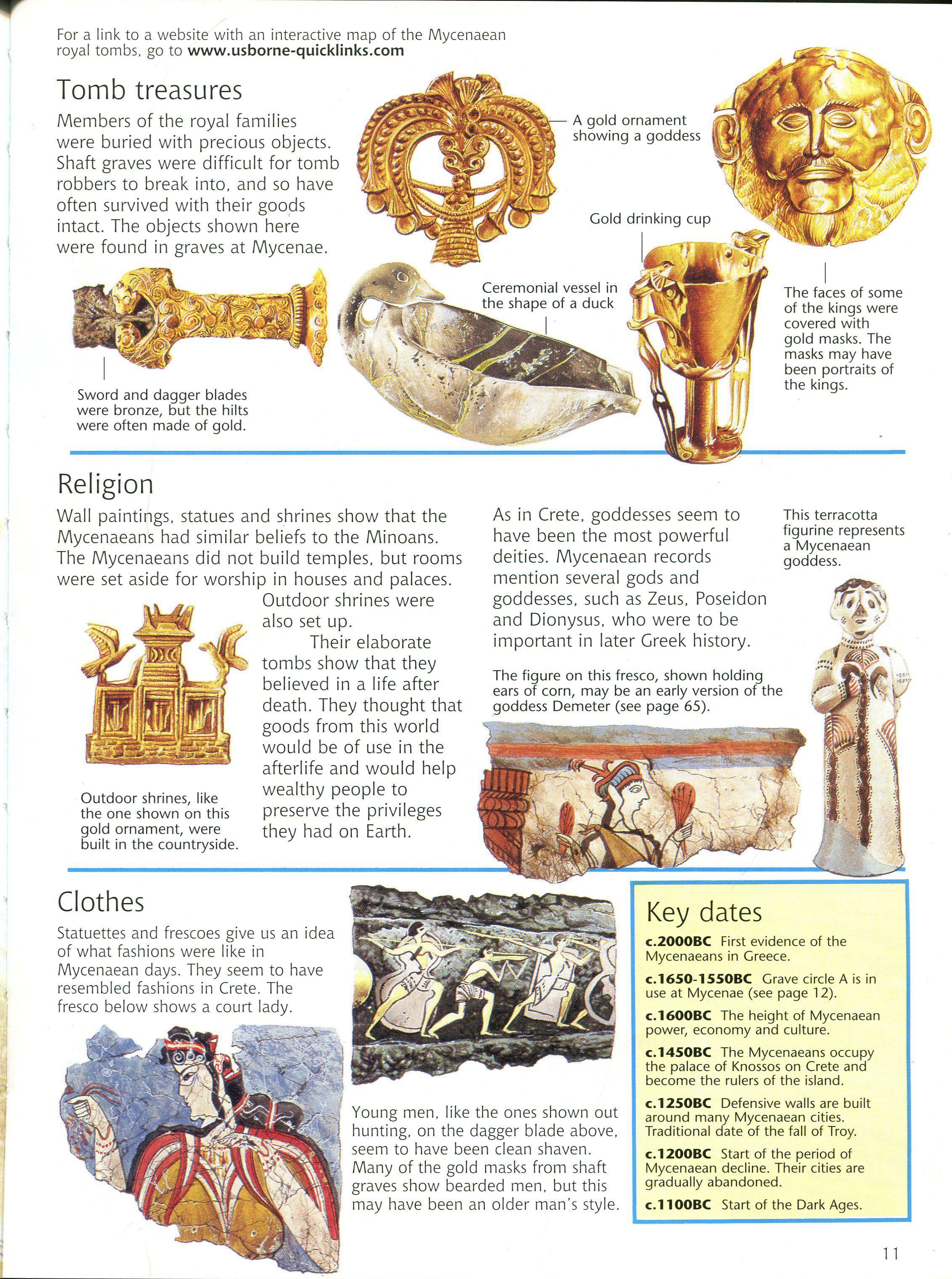 Mycenaean Culture Ancient World History Greek History Ancient Greece