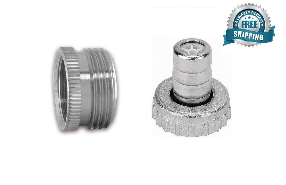 Adaptor For Kitchen Faucet Tap Aerator 3 4 To 22mm And 3 4 Garden Tap Hose Kitchen Faucet Aerator Faucet