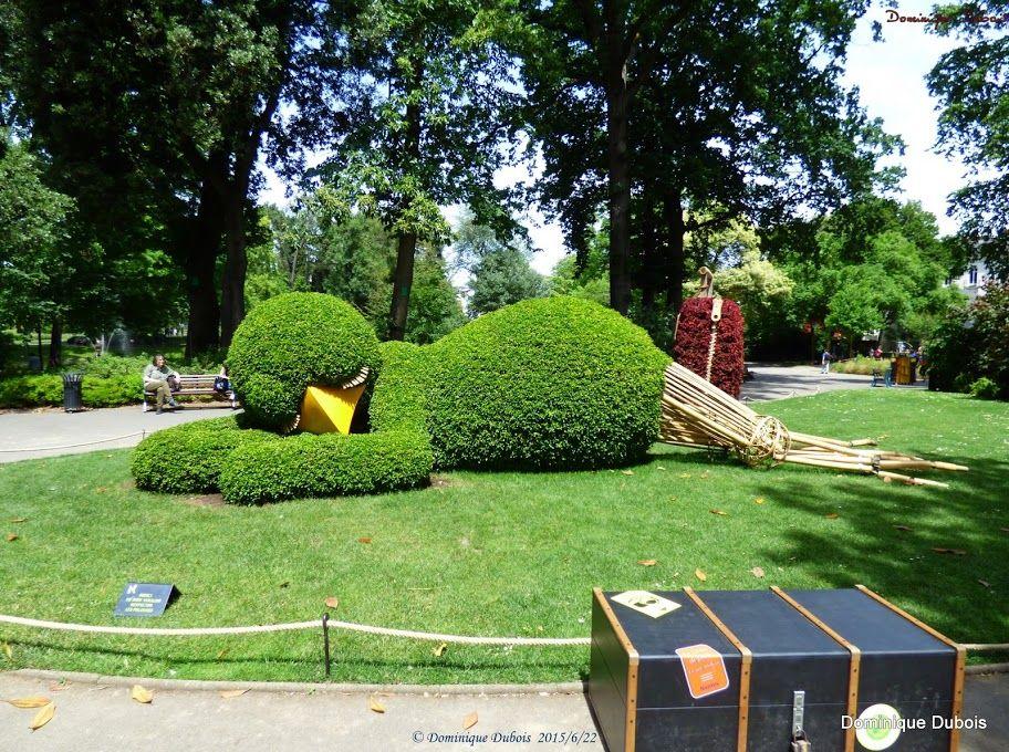 le Poussin du jardin des plantes de Nantes- Claude Ponti - le ...