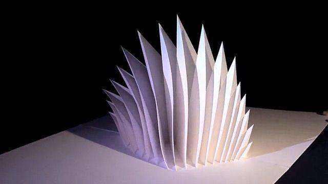Six Amazing PopUp Paper Sculptures By Peter Dahmen DIY Crafts - Elaborate pop paper sculptures peter dahmen