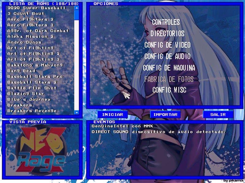 neo geo emulator roms free download pc