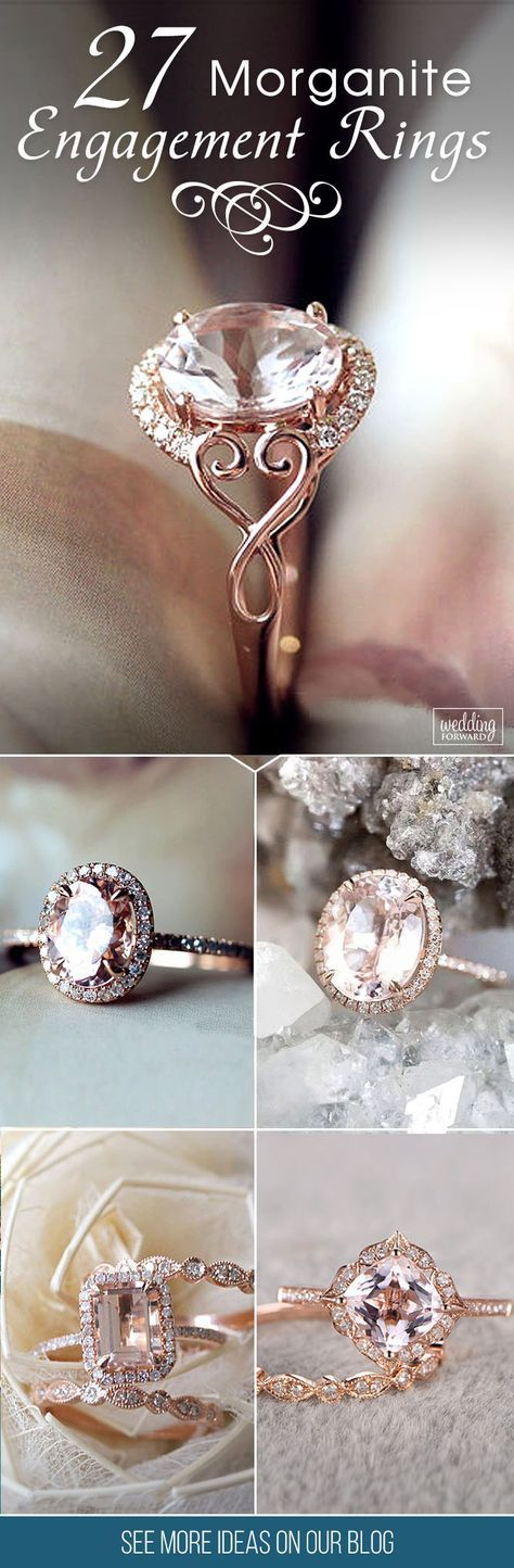 Morganite Engagement Rings We Are Obsessed With