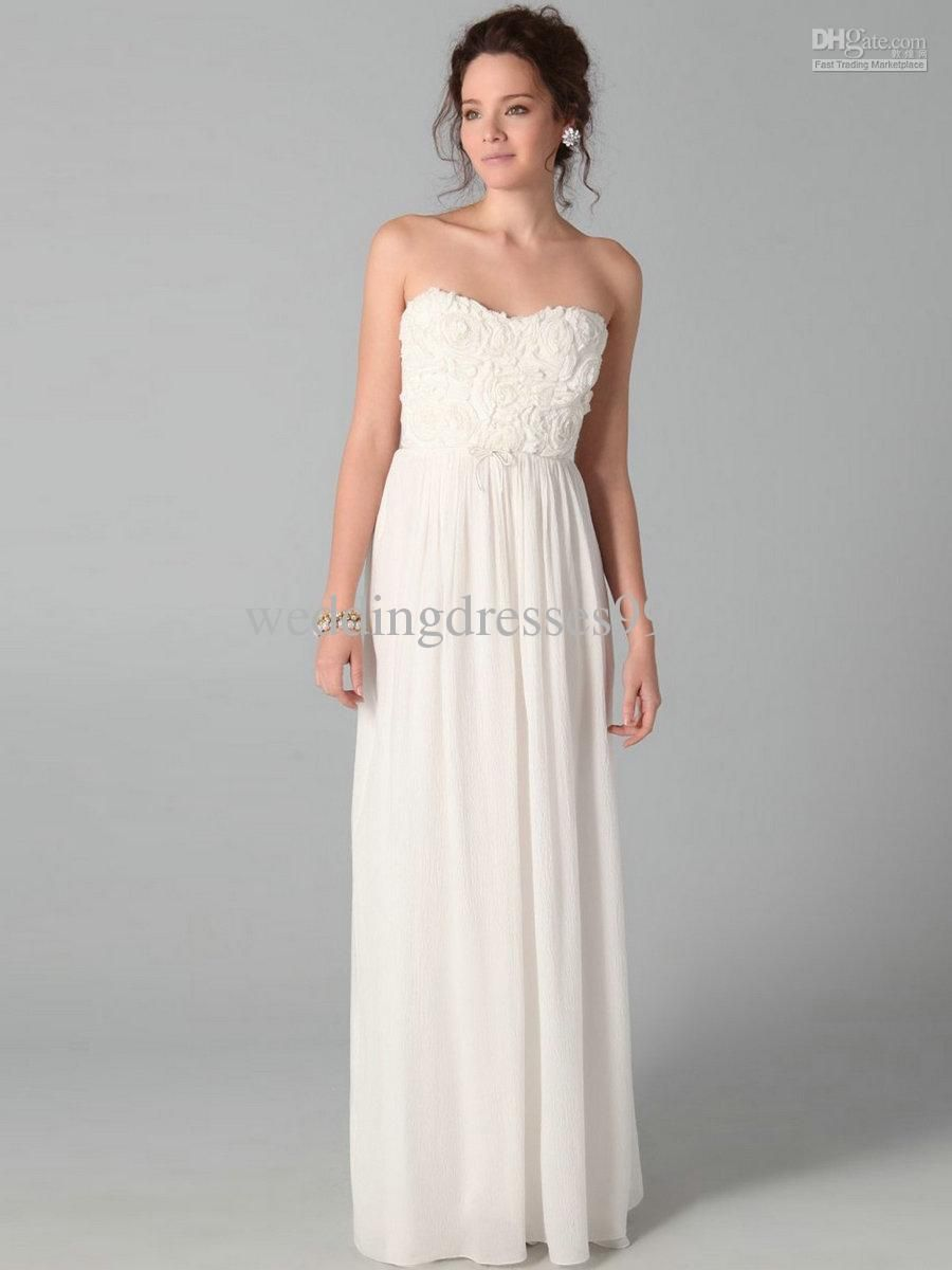 White Elegant Long Dresses | Dress images