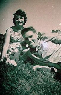 Elvis with 16-year-old Roswitha Klaus (neé Eberhard) in ...