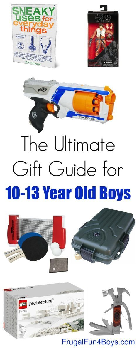 Gift Ideas for 10 to 13 Year Old Boys | Pinterest