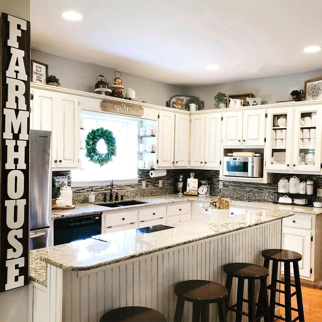 I Took Down All The Holiday Kitchen Decor The Post On The Island