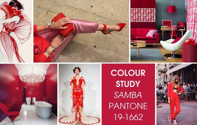 Samba Pantone Color