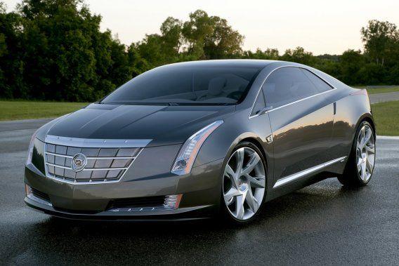 Cadillac ELR prototype.