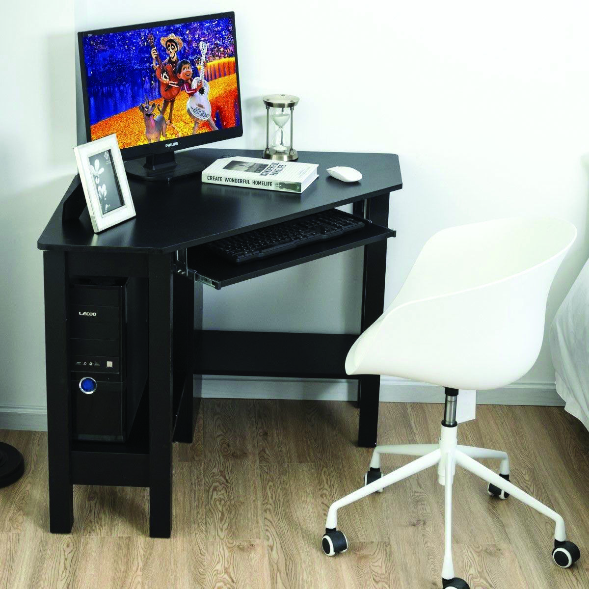 17 Diy Corner Desk Ideas To Build For Your Office Diy Corner Desk Corner Desk Desk With Drawers