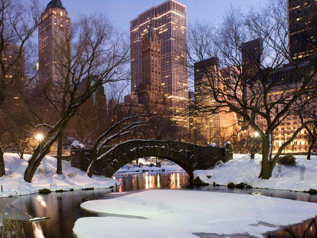 Gapstow Bridge in Central Park, New York Robert Harding