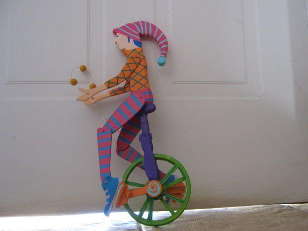 unicycle arlequin