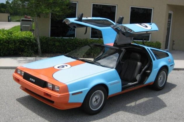 eBay Find of the Day: Gulf Racing DeLorean is a very bad ...