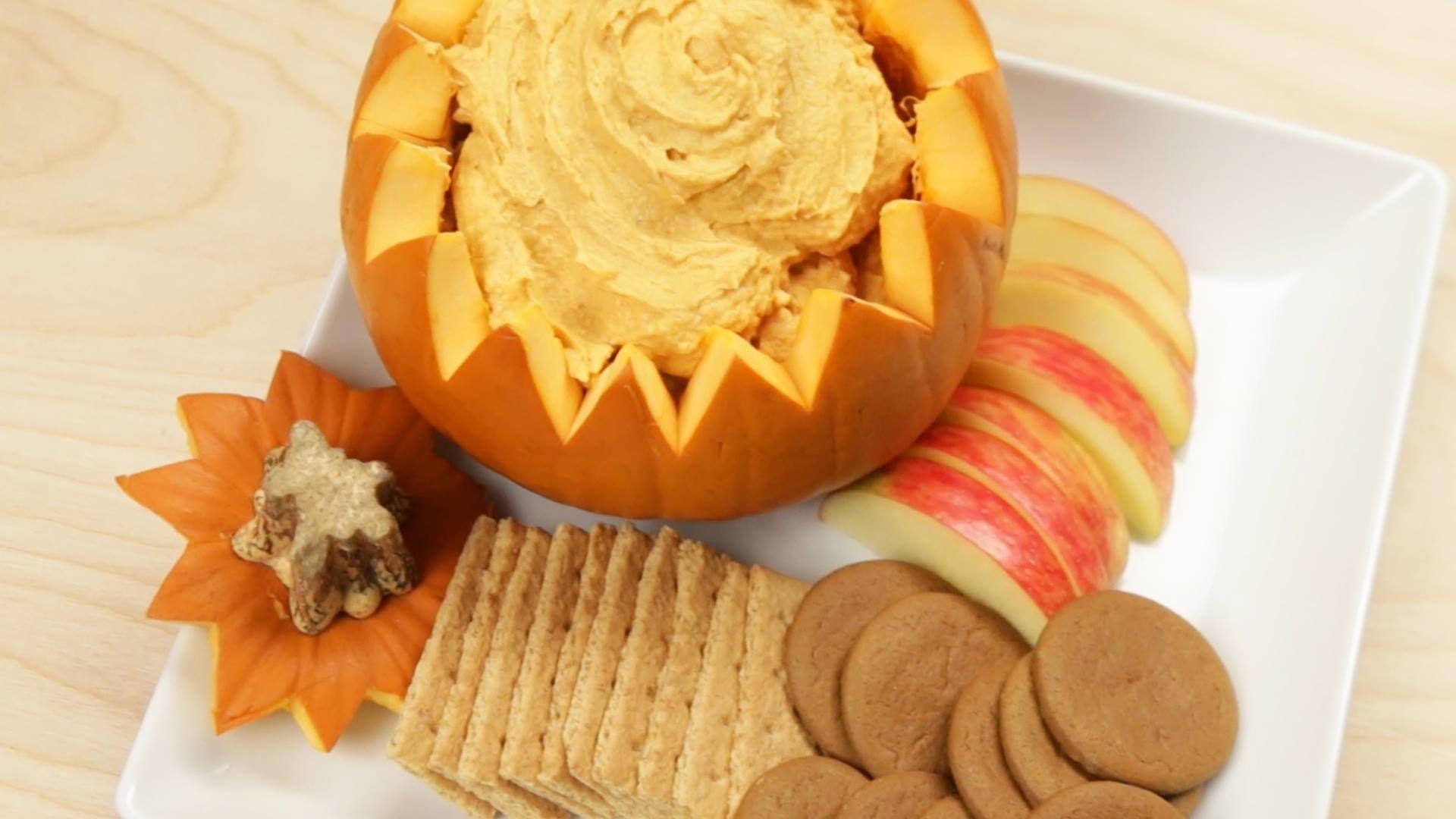 Pumpkin pie dip!