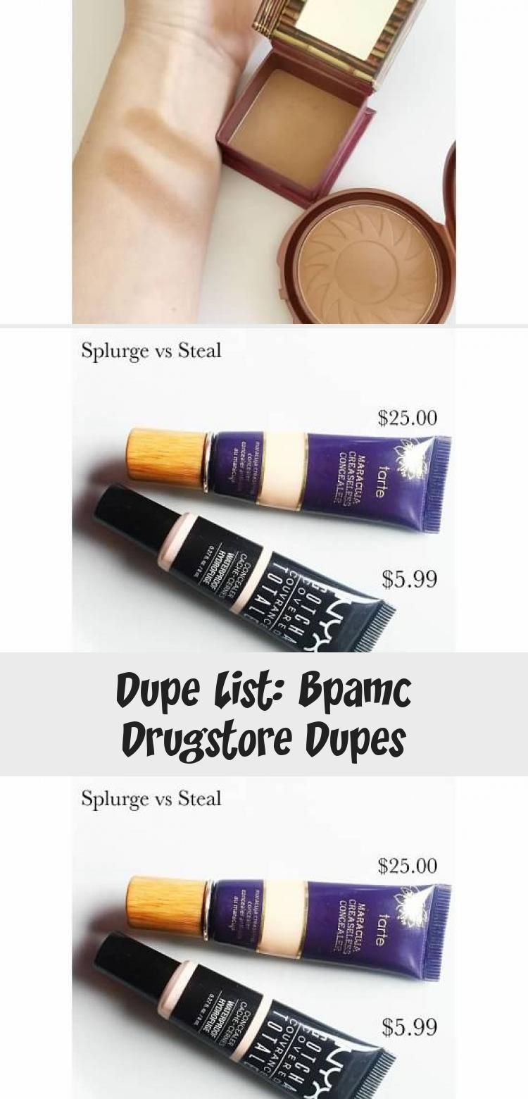 Photo of Dupe-Liste: Bpamc Drugstore Dupes – MAKEUP