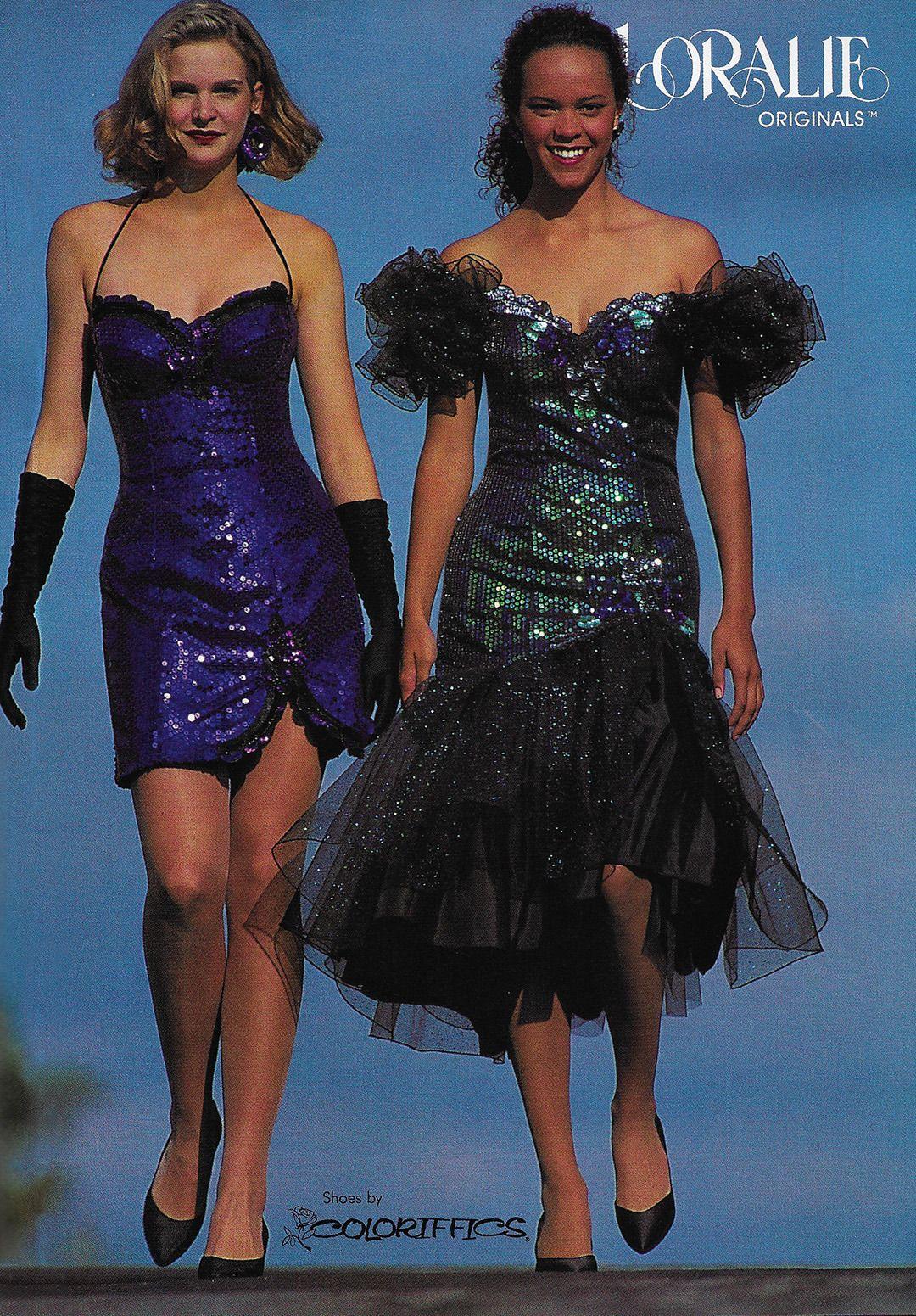 Just Seventeen February 1993 Loralie Originals Prom Dresses Vintage 80s Prom Dress Vintage Prom [ 1551 x 1080 Pixel ]