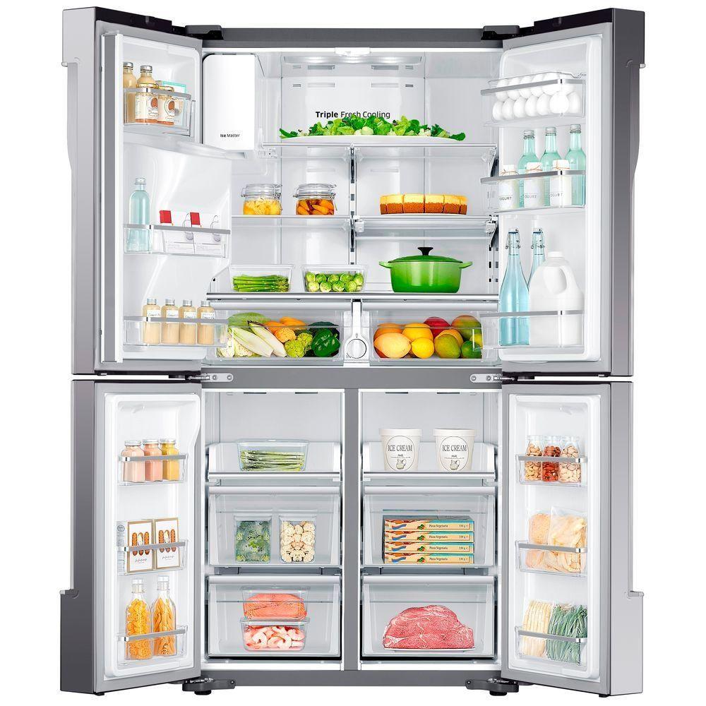 Samsung 22.5 cu. ft. 4-DoorFlex French Door Refrigerator ...