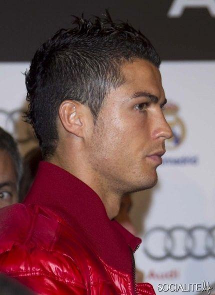 Cristiano Ronaldo Hairstyle Cristiano Ronaldo Real Madrid For - Hairstyle de cr7