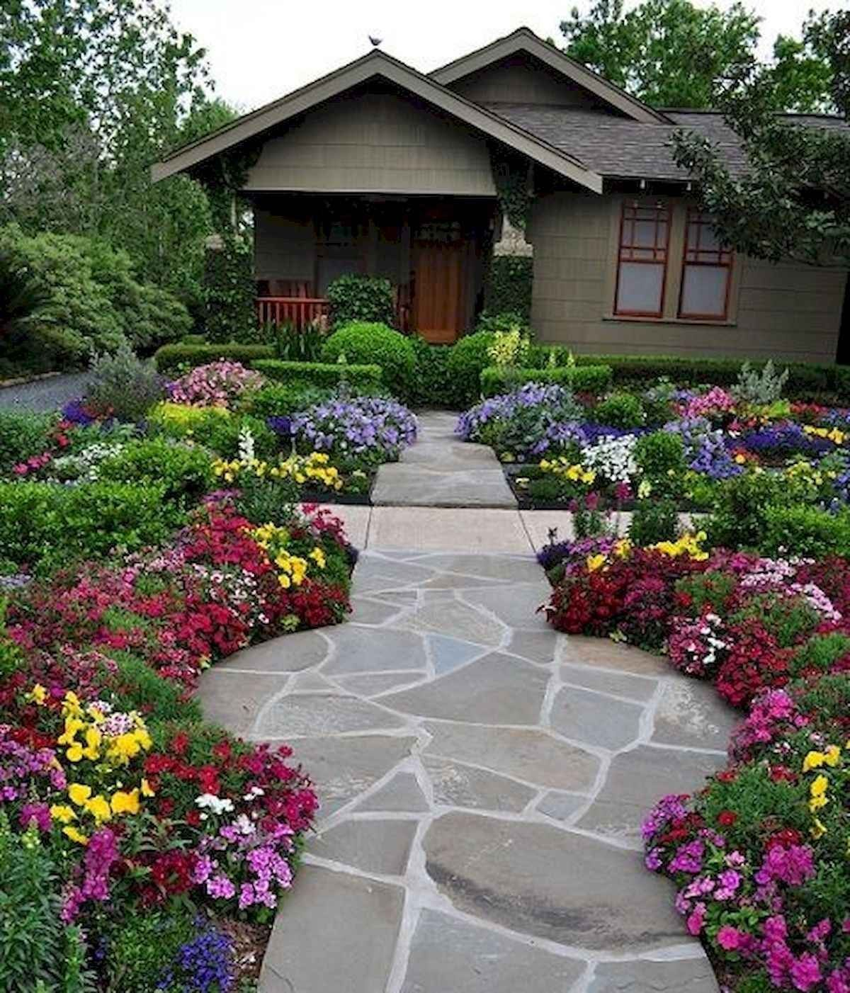 40 Cool Front Yard Garden Landscaping Design Ideas And ... on Front Yard Renovation Ideas id=78906