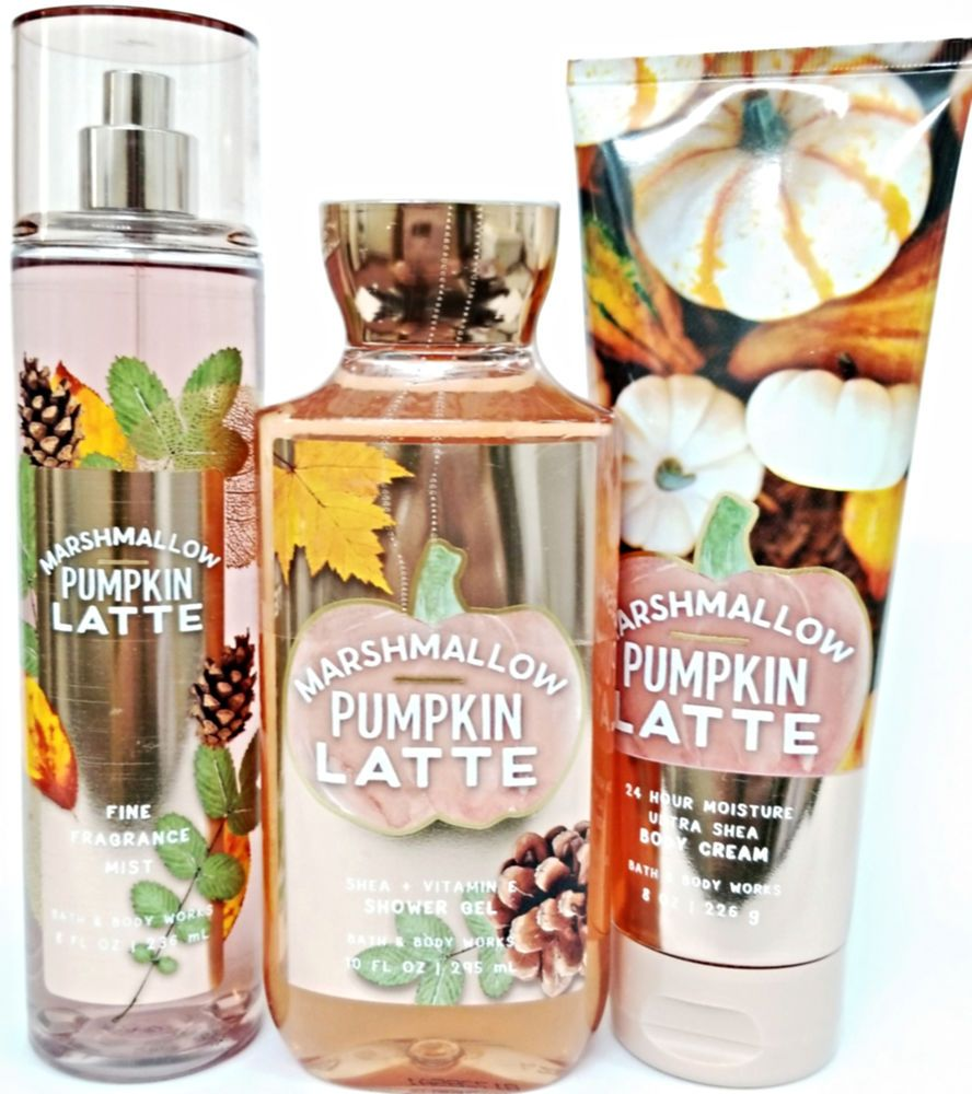 Bath And Body Works Marshmallow Pumpkin Latte' Body Cream
