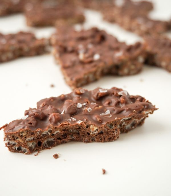 Chocolate Crunch bark 4