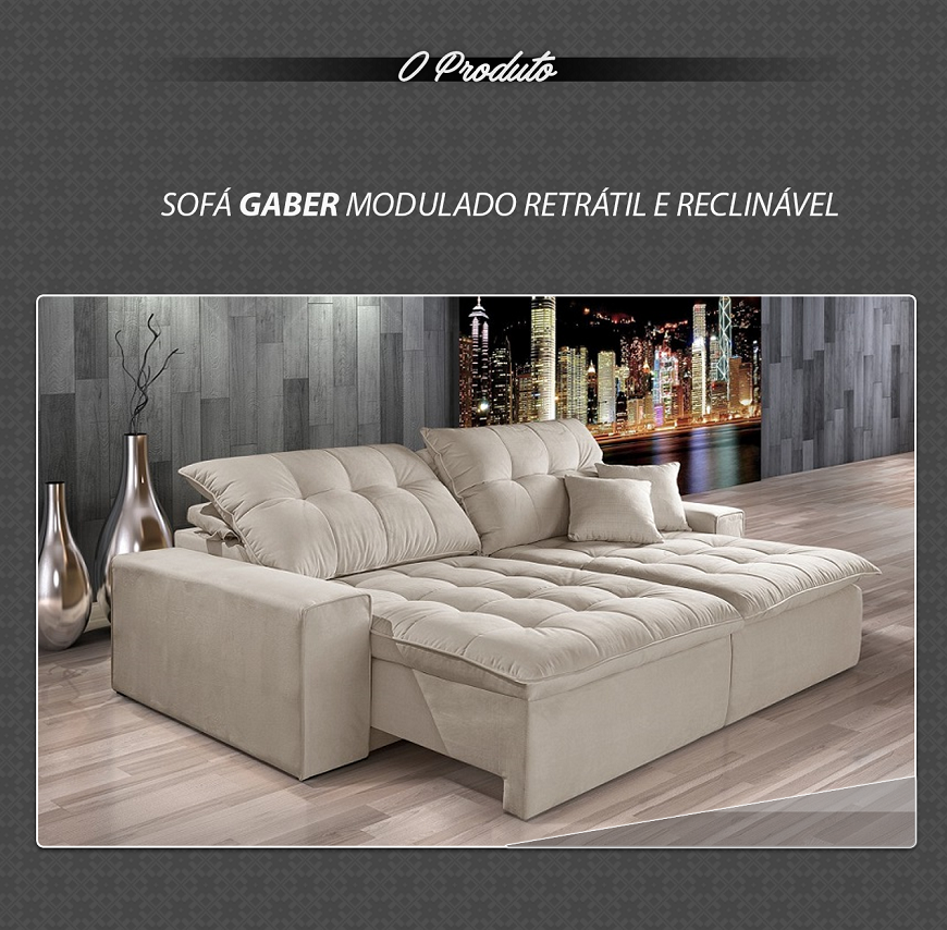 Wondrous Sofa Retratil Reclinavel Estofado Gaber R 2 980 00 Evergreenethics Interior Chair Design Evergreenethicsorg