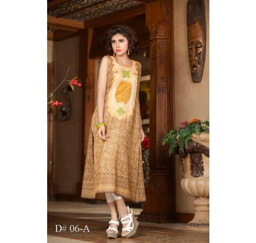 Beautiful Embroidered Dress By Batik Lawn (With Images