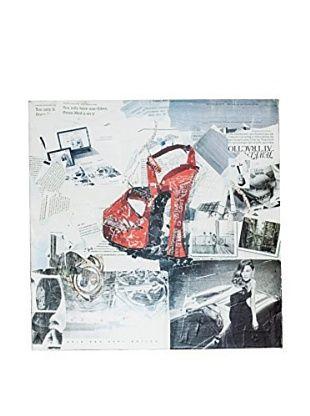 Home Ideas Leinwandbild News Pop Red Shoe