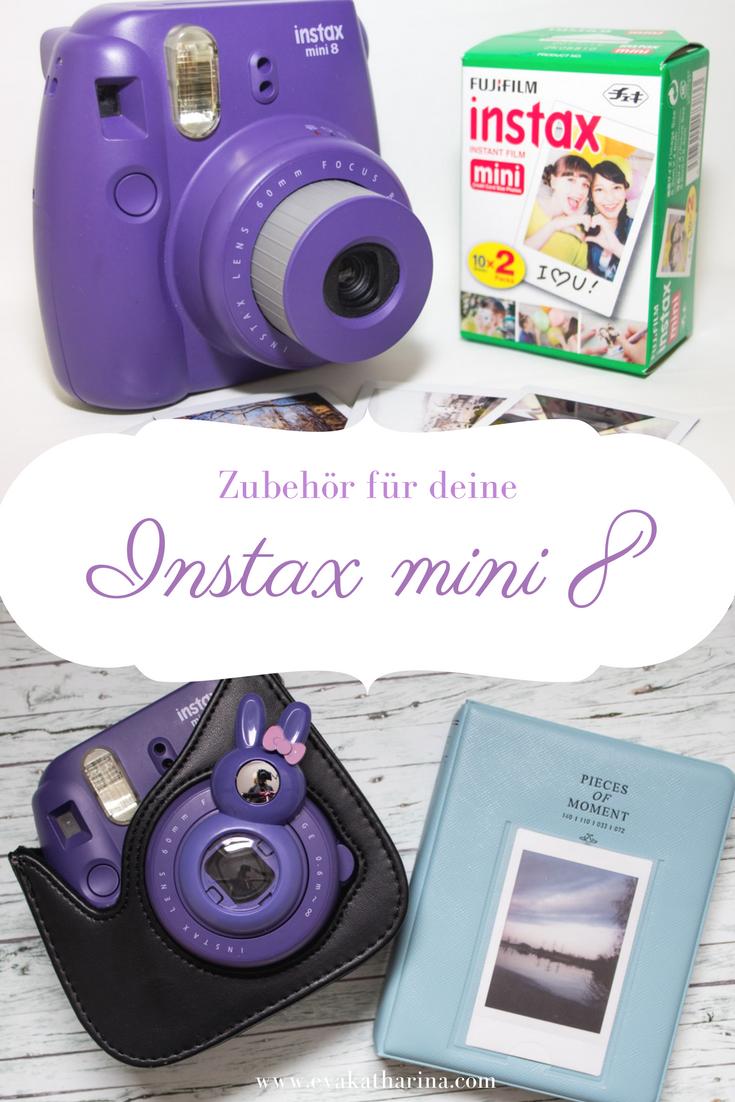 Interessierst du dich auch für die Polaroidfotografie und hast eine Instax mini 8? Hier zeige ich dir tolles Zubehör für die Kamera!